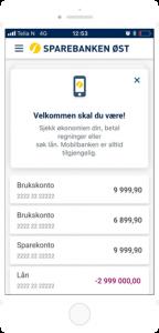 Mobilbank - oversikt