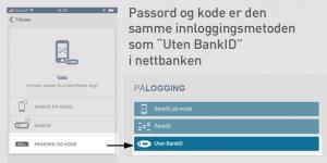 Aktivering mobilbank