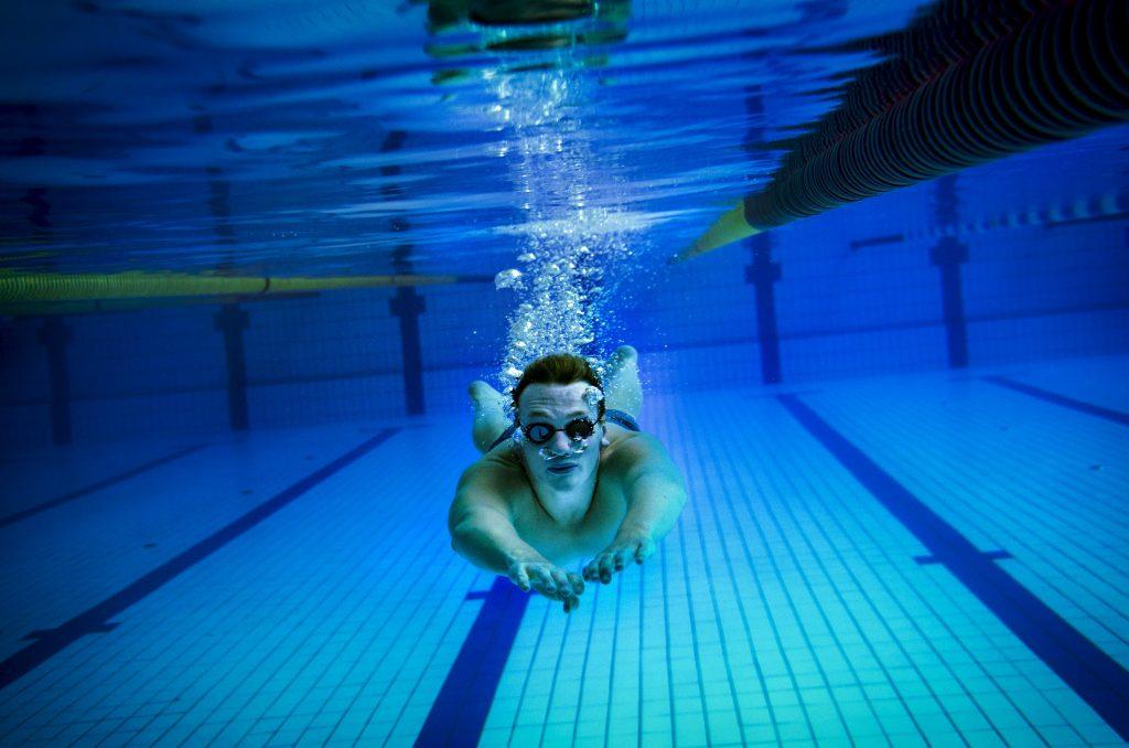 Svømmetalent Andreas Bjørnstad, Drammen svømmeklubb