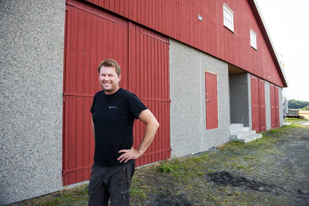 Engasjert bonde i Øvre Eiker