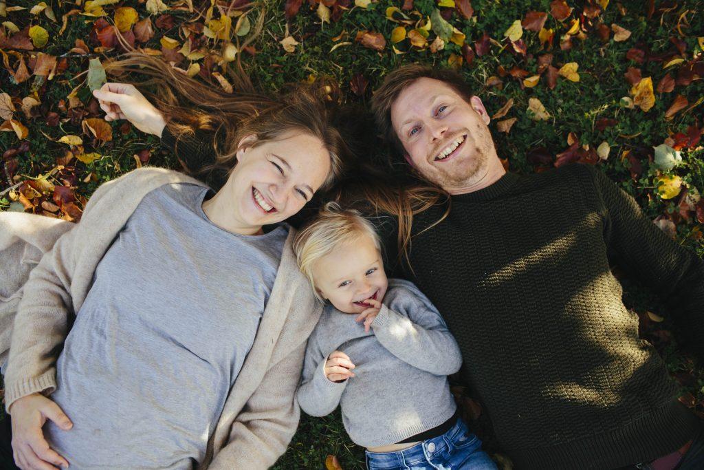 En blid familie