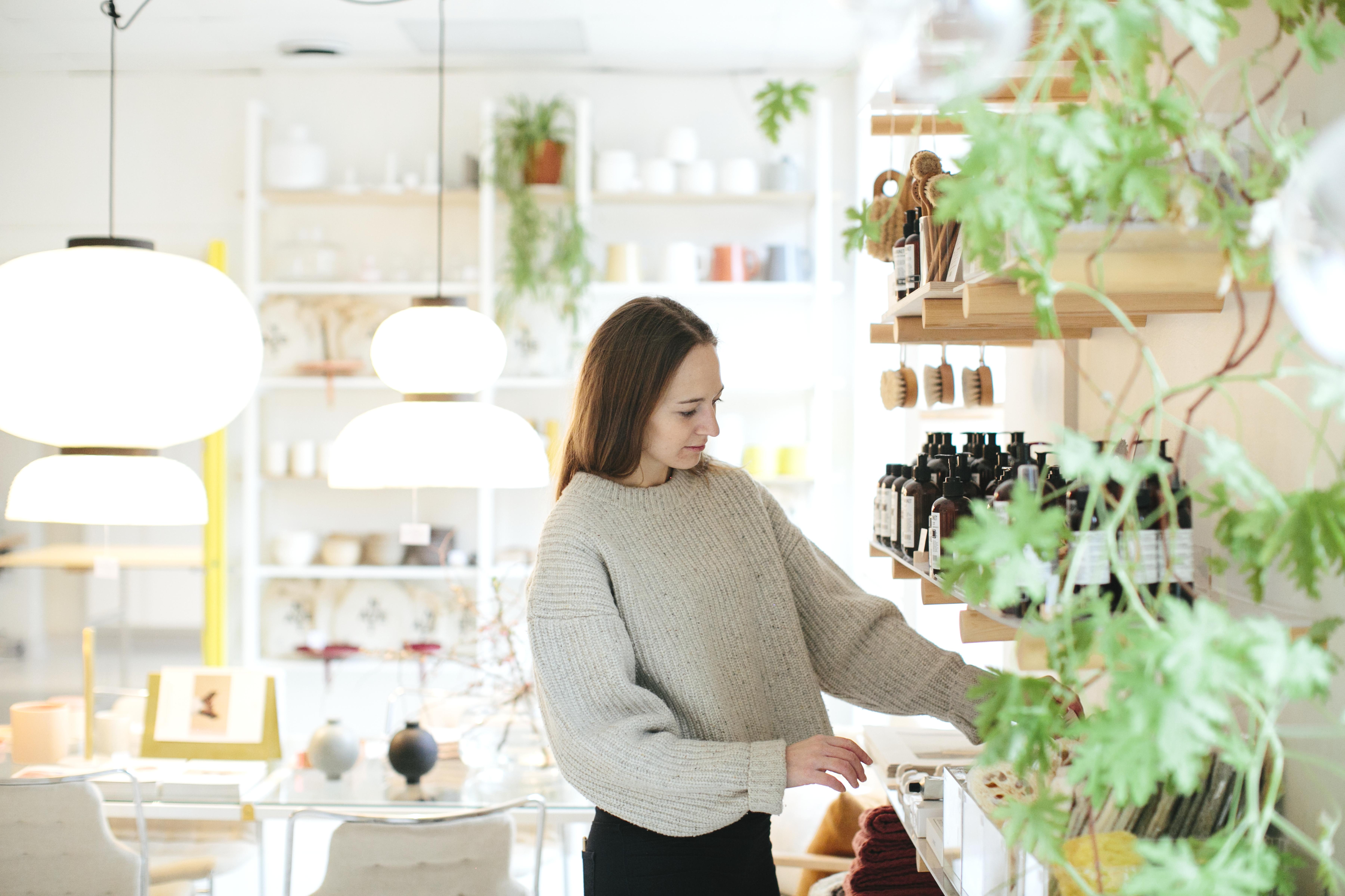 Kvinner shopper