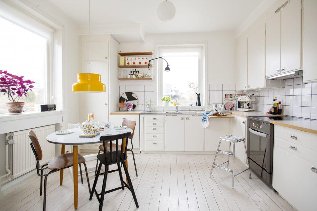 Moderne lyst kjøkken