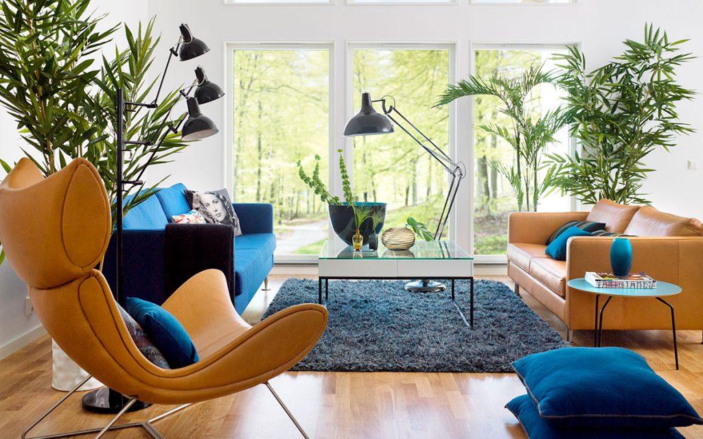 Moderne stue - Hvor mye kan jeg låne?